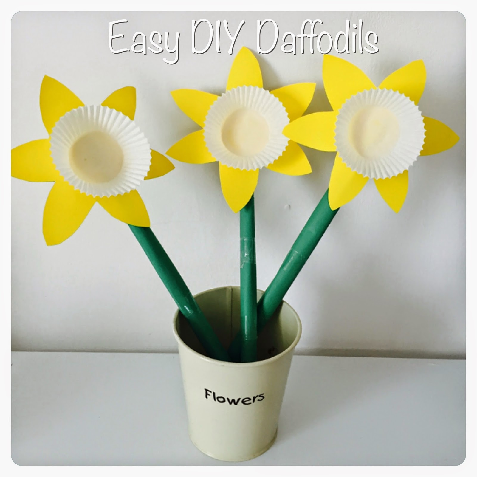Daffodil Paper Flower Crafts