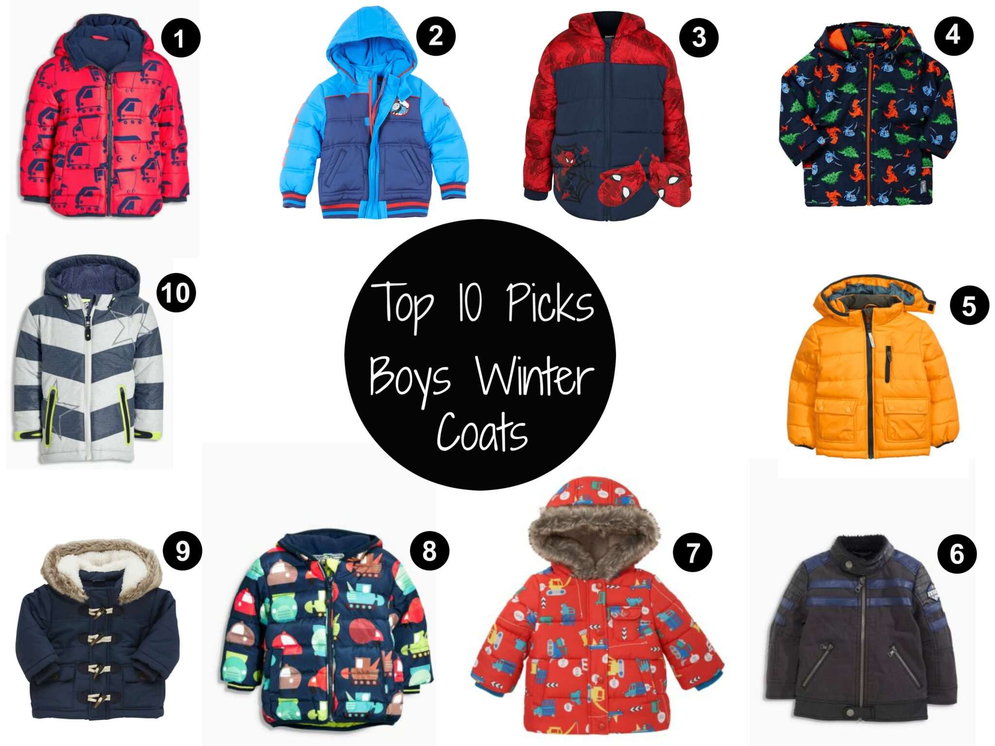Boys Winter Coats - Top 10 Picks - Sticky Mud and Belly Laughs